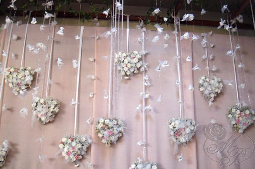 Фото украшение на свадьбу своими руками