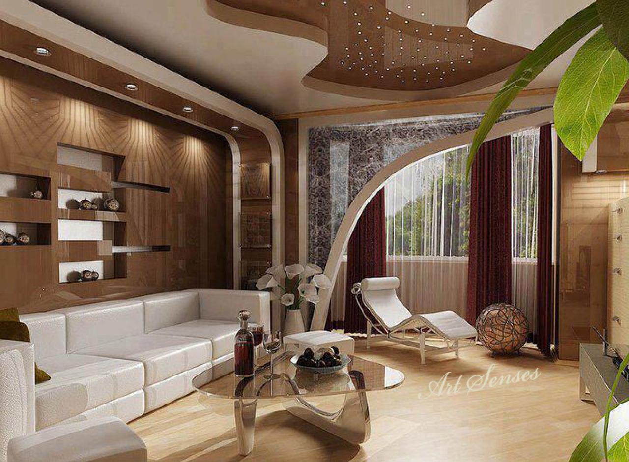 Примеры дизайна гостиной комнаты