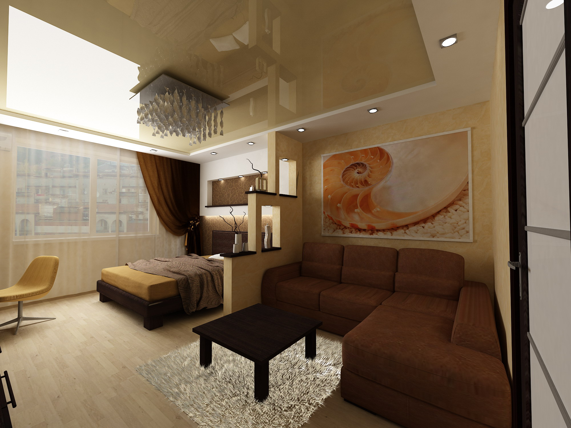 Комната 19 кв м дизайн