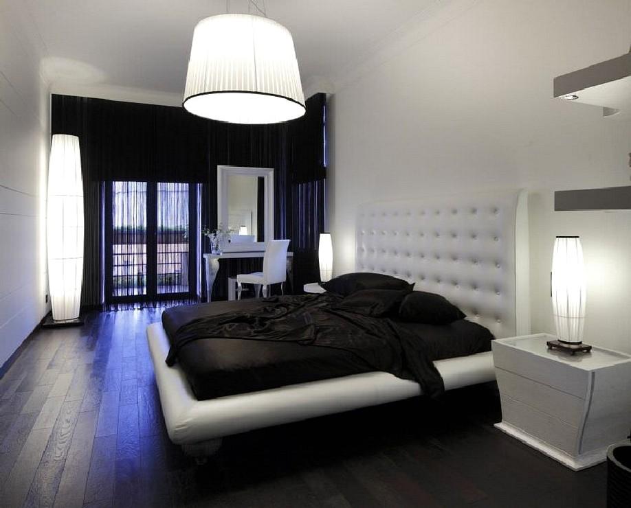 Дизайн комнат с темным полом и светлыми дверями