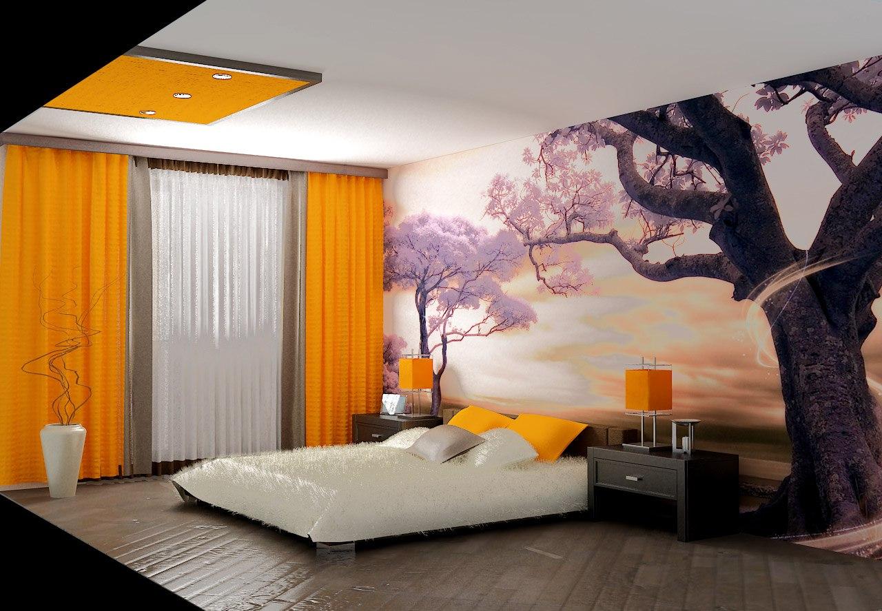 Интерьер спальни ремонт