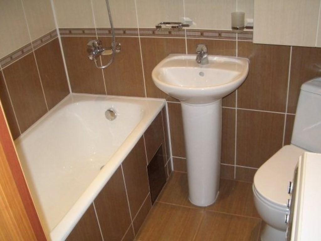 Ремонт ванной комнаты и туалета хрущевка