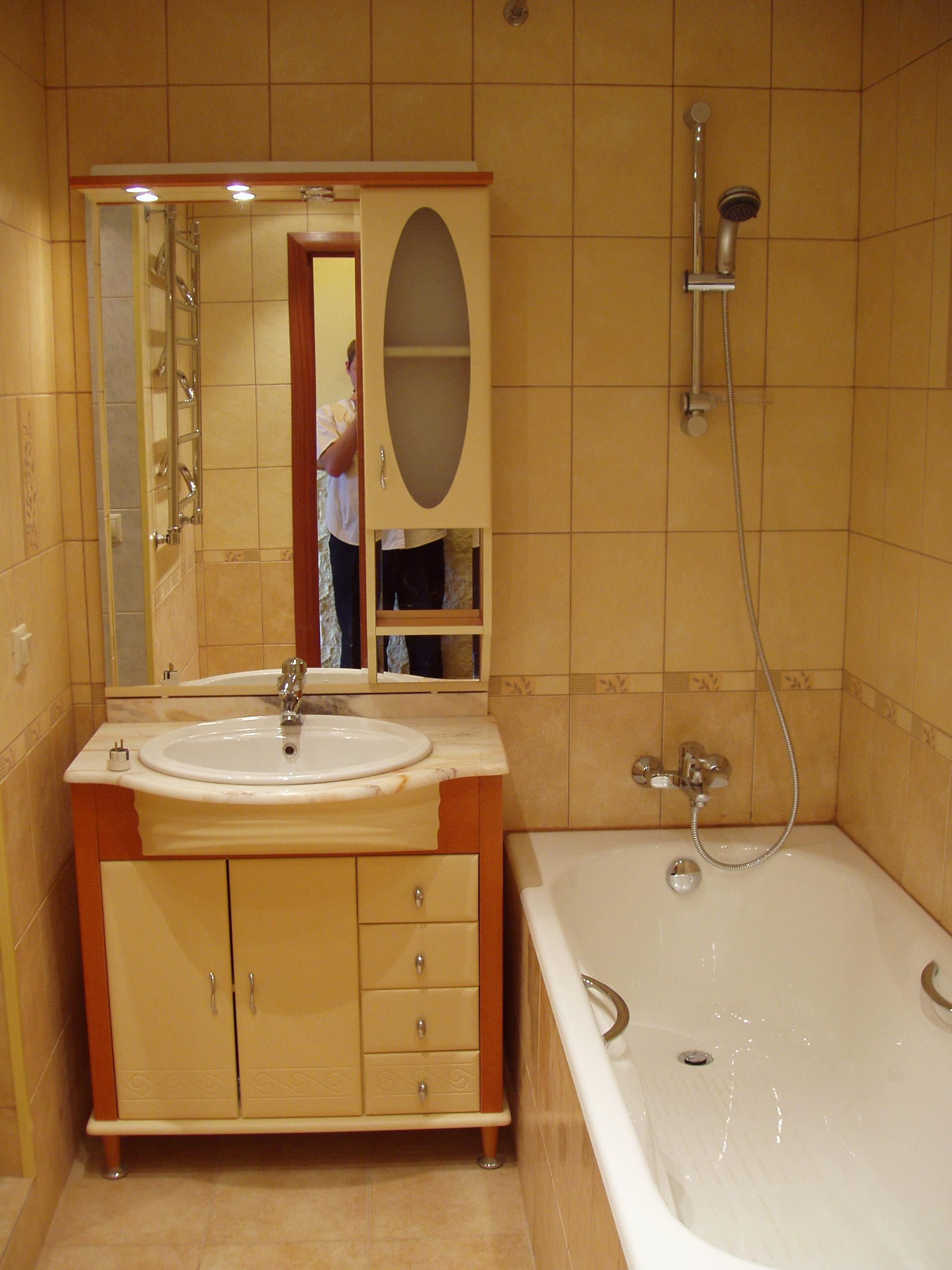 Ремонт на квартире в ванной комнате