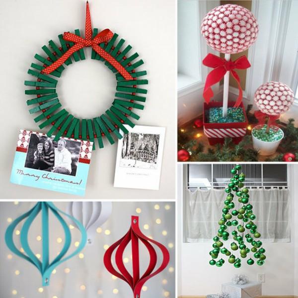 """Как украсить квартиру на новый год своими руками из бумаги """" Картинки и фотографии дизайна квартир, домов, коттеджей"""