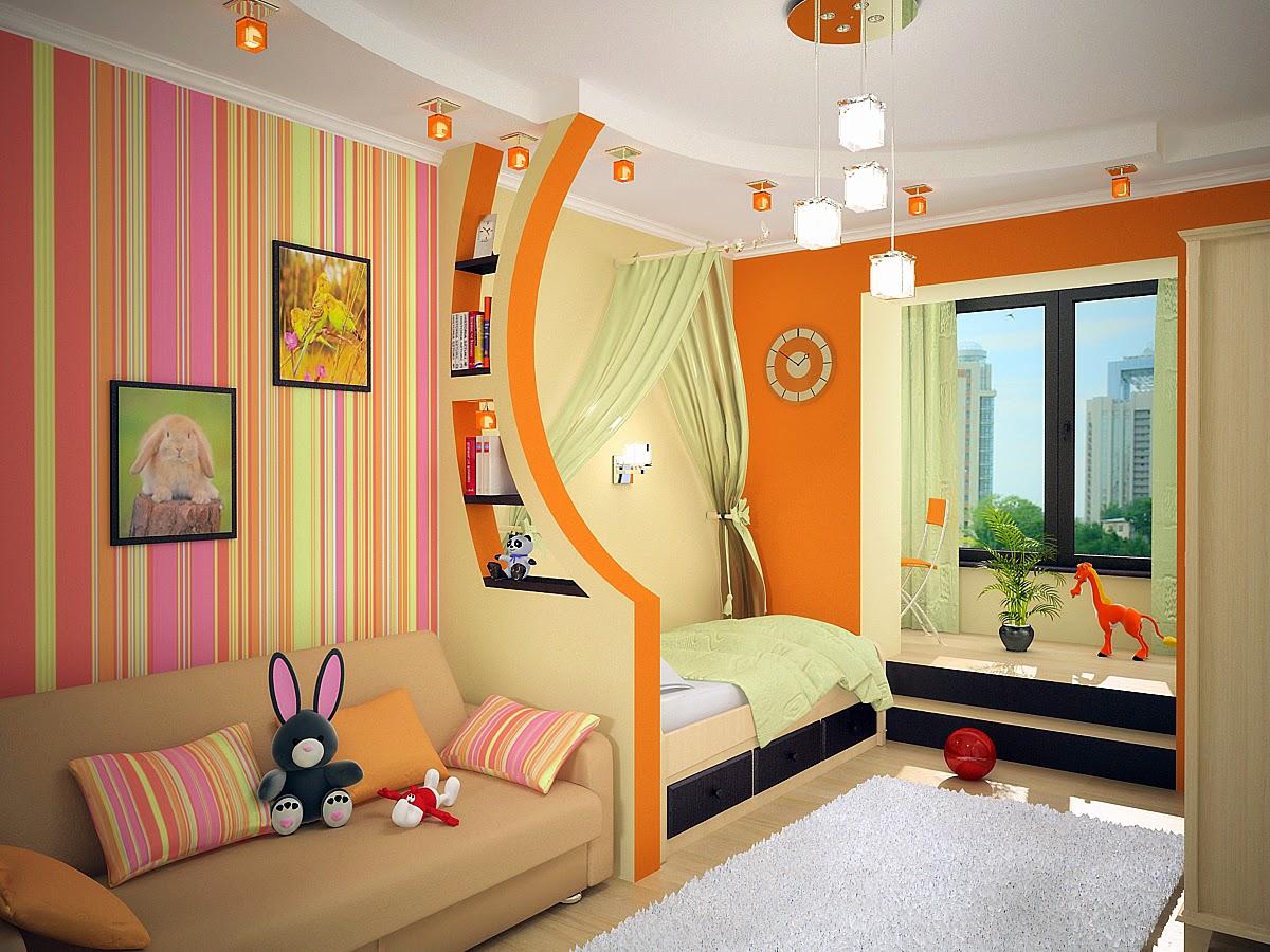 Интерьеры детских комнат для двух девочек фото