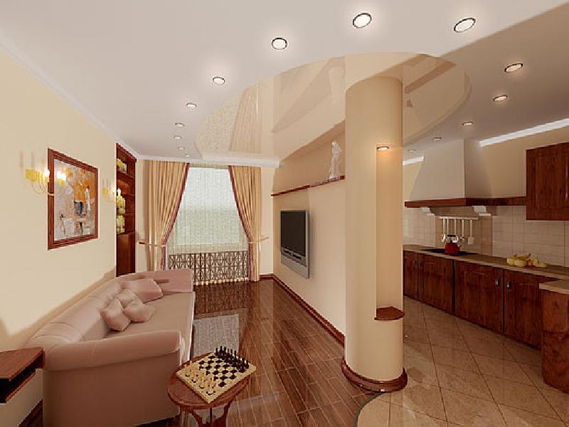 Дизайн интерьера 1-комнатной квартиры