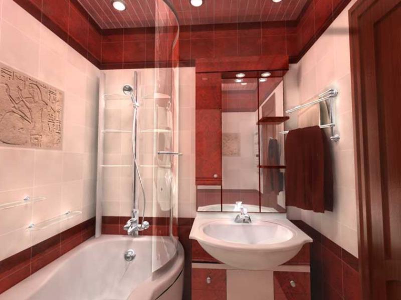 Ремонт ванной комнаты своими руками малых размеров