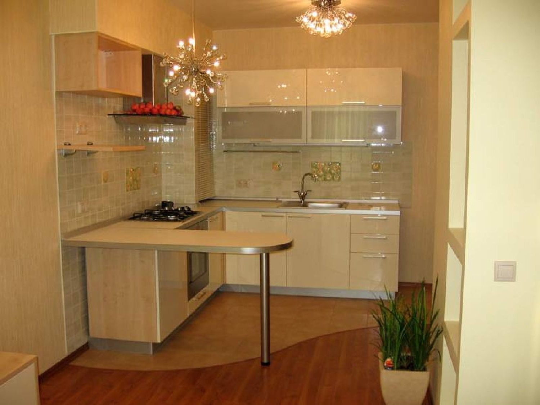 """Дизайн маленькой кухни совмещенной с гостинной фото """" Картинки и фотографии дизайна квартир, домов, коттеджей"""