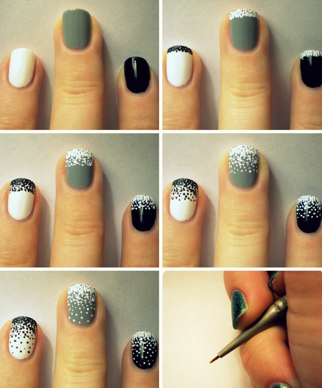Как сделать маникюр в домашних условиях самой себе на короткие ногти фото