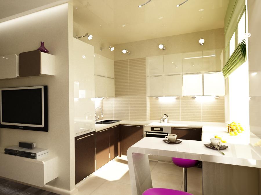 Бюджетный дизайн однокомнатной квартиры 35 квм