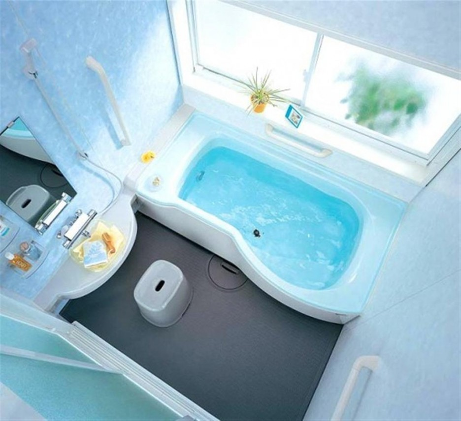 Маленькая ванная комната 9