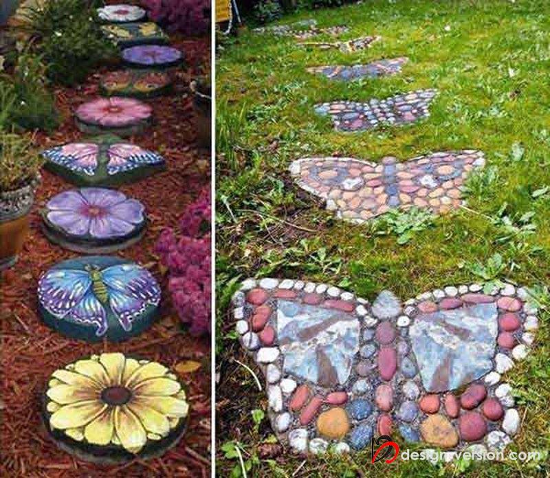 Декор для сада и огорода своими руками фото мельница