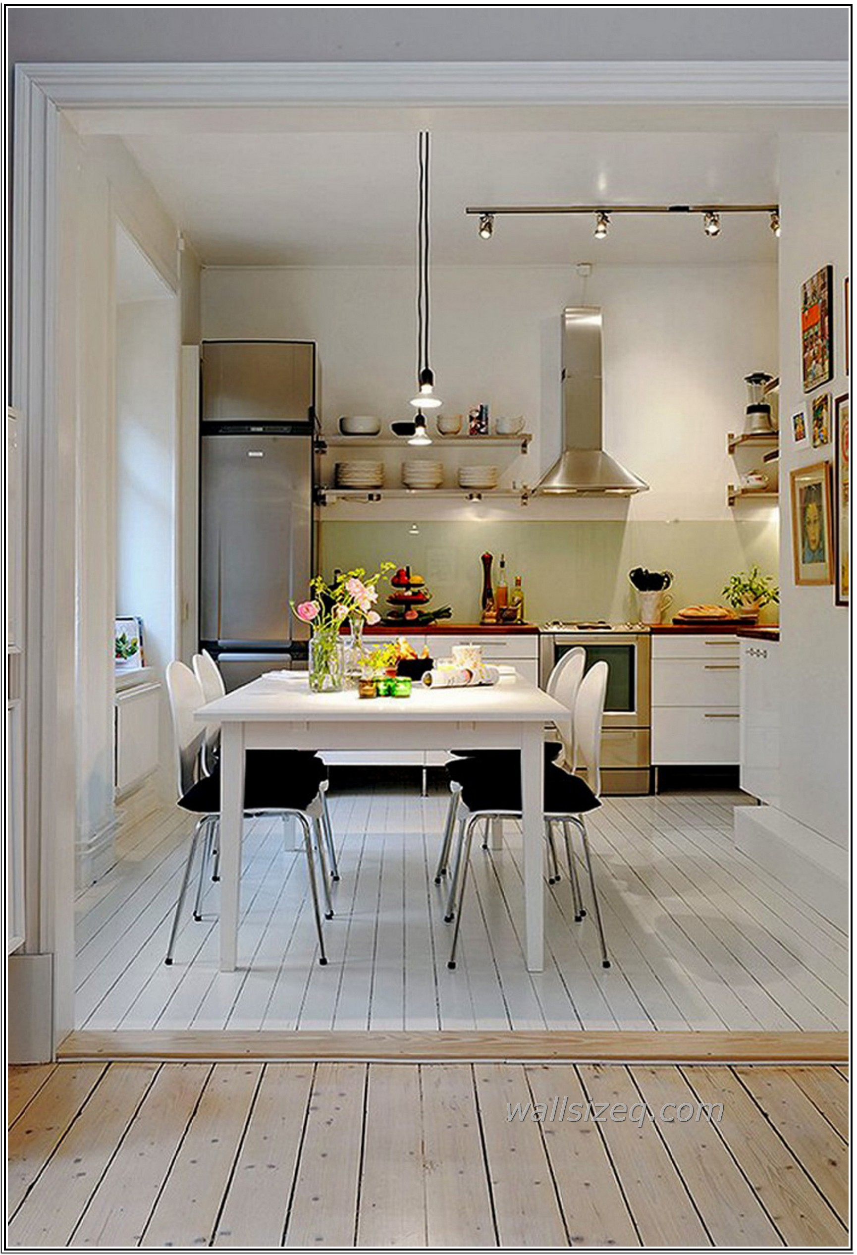 Фото маленькой кухни в студии фото 2015 современные идеи