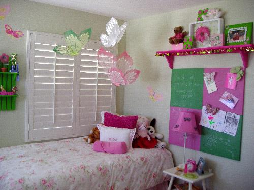 Как украсить свою комнату детскими руками