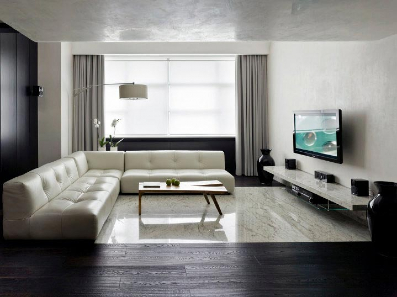 Дизайны комнат минимализм