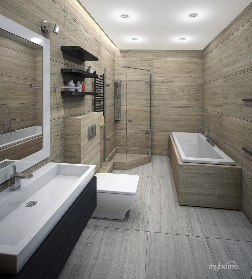 Ванные комнаты дизайн в стиле минимализм