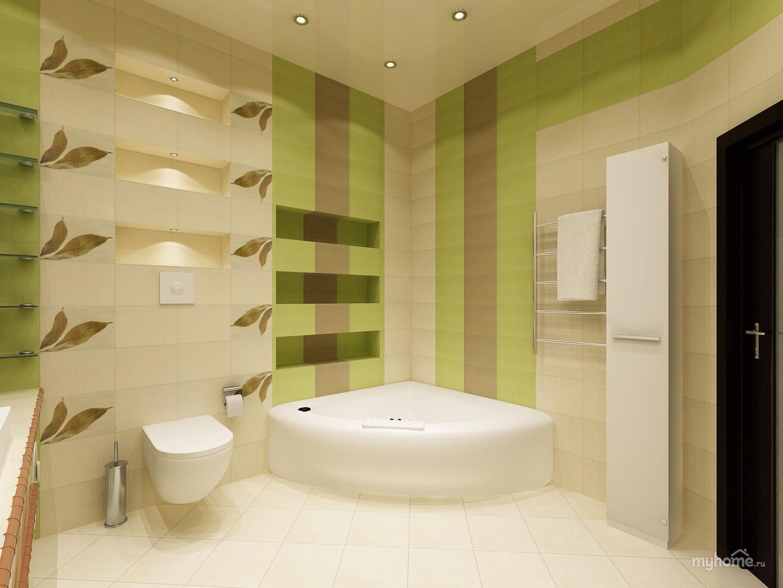 Ремонт в ванной комнате фото варианты отделки фото
