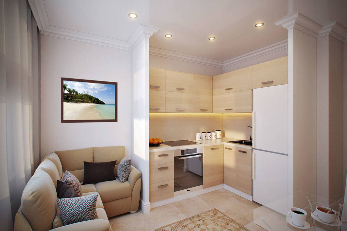 Дизайн однокомнатной квартиры по фен шуй