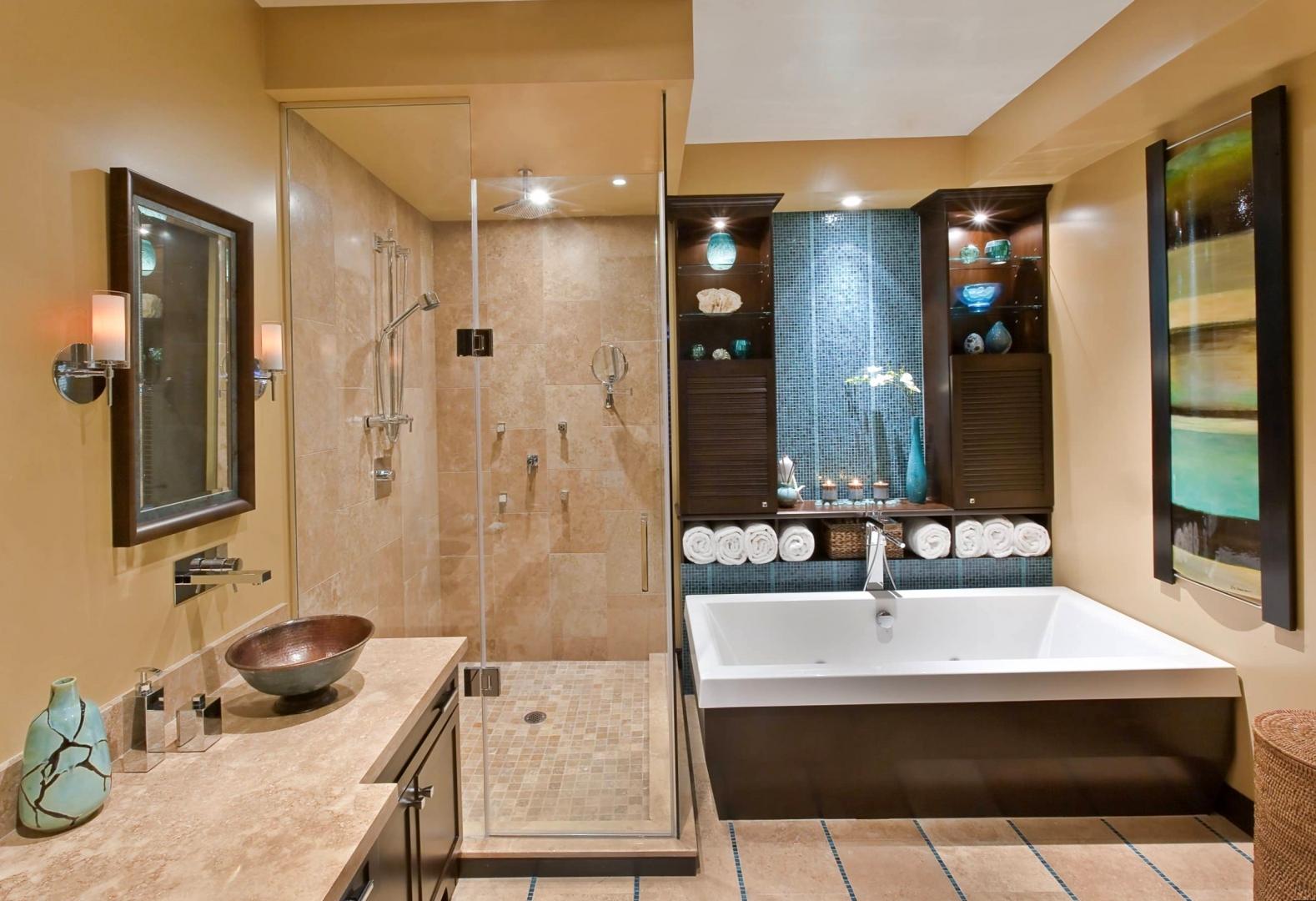 Ванная в доме дизайн