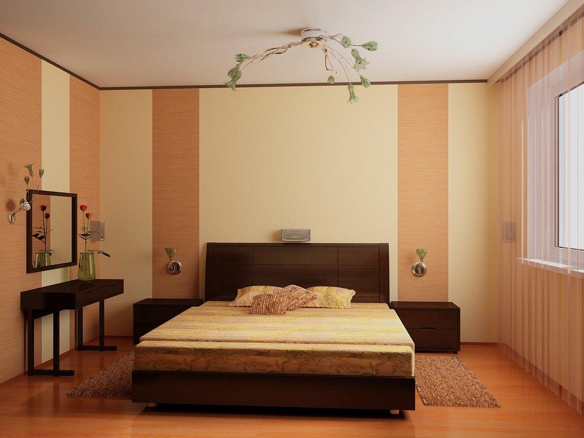 Простой дизайн спальни своими руками: видео-инструкция по красивому 48