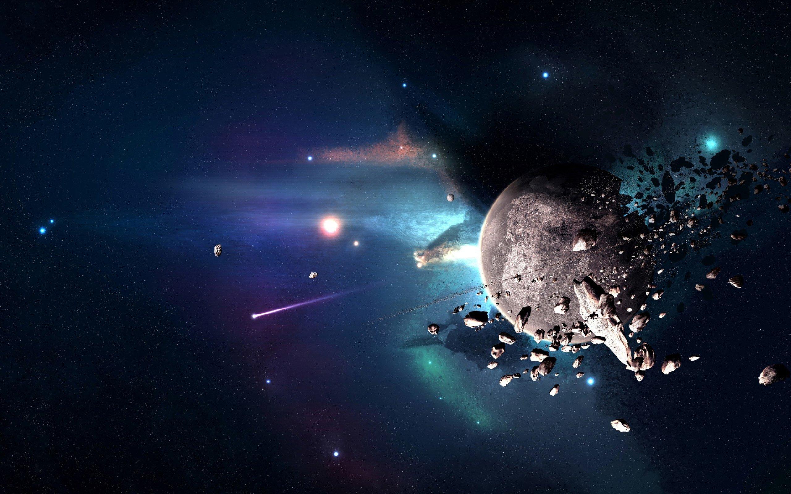 Обои Темная планета картинки на рабочий стол на тему Космос - скачать  № 1763091 бесплатно