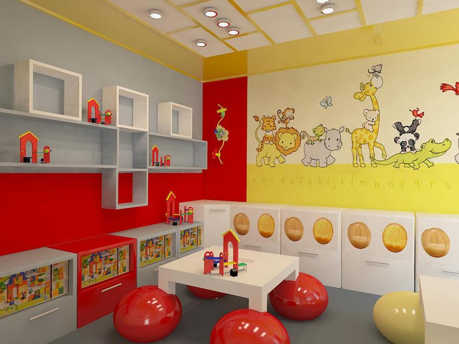 Дизайн детского игрового центра
