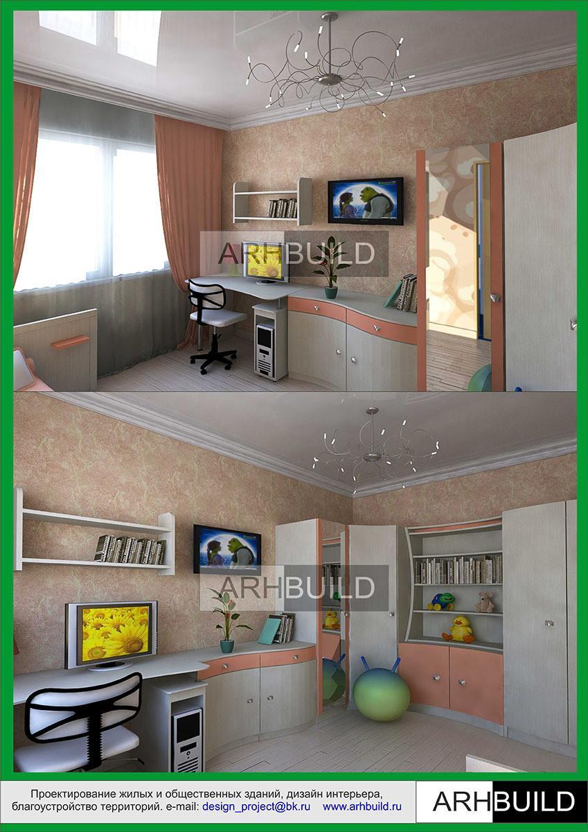 Дизайн и интерьер 2 х комнатной хрущевки