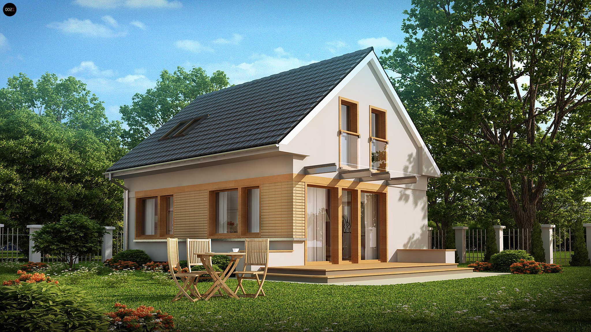 Дизайн проект дома орел