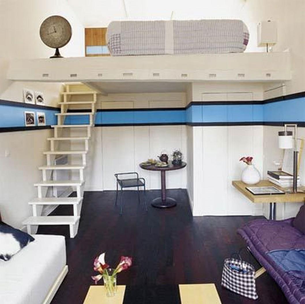 Интерьер маленькой квартиры 10