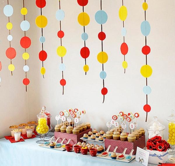 Украшение квартиры на день рождения