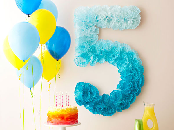 Цифра к дню рождения ребенка