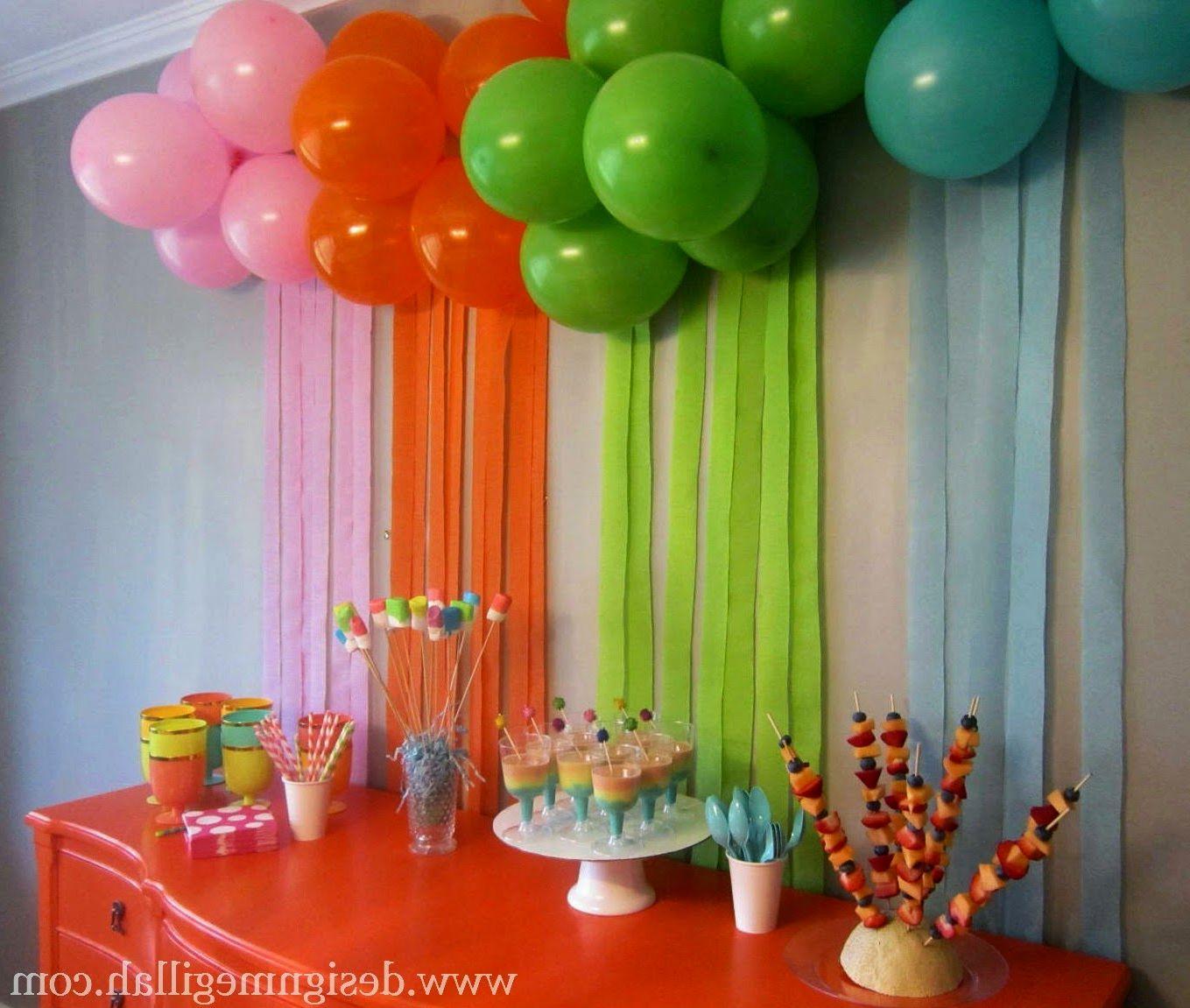 Украшаем день рождения детям