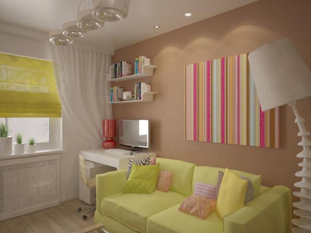 Дизайн однокомнатной квартиры 30 кв м для семьи с ребенком