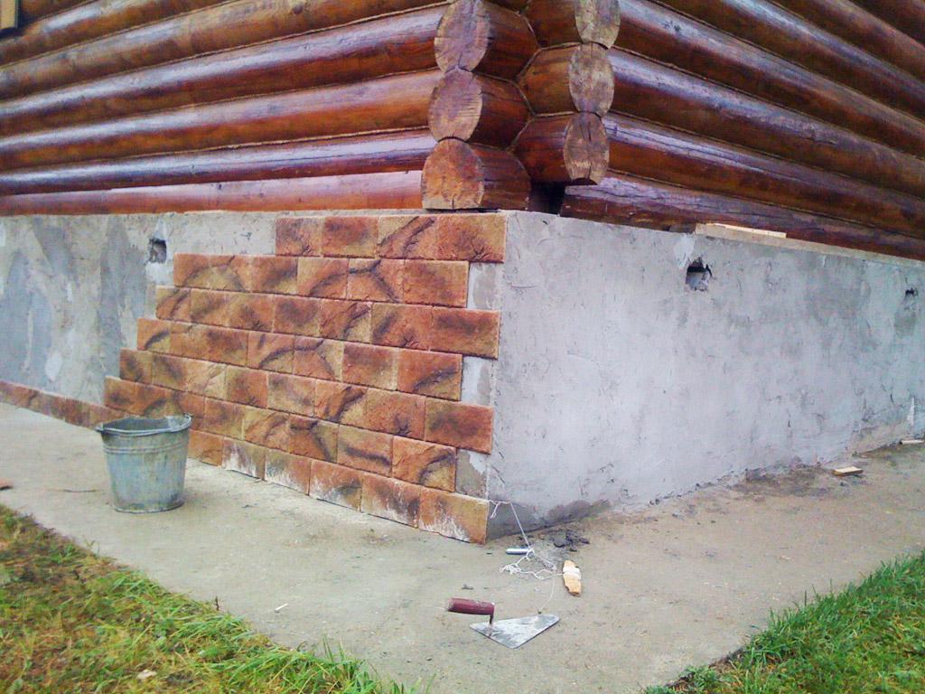 Чем отделать фундамент дома своими руками