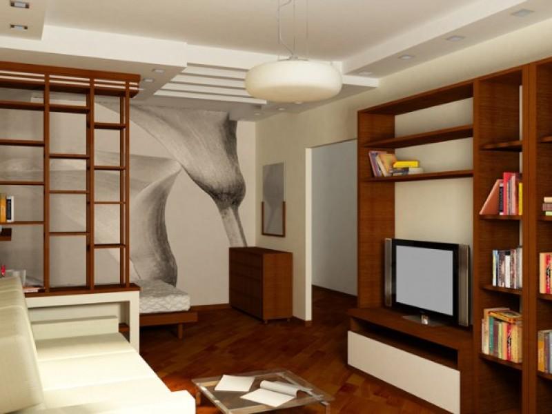 Интерьер в 1 комнатной квартире фото