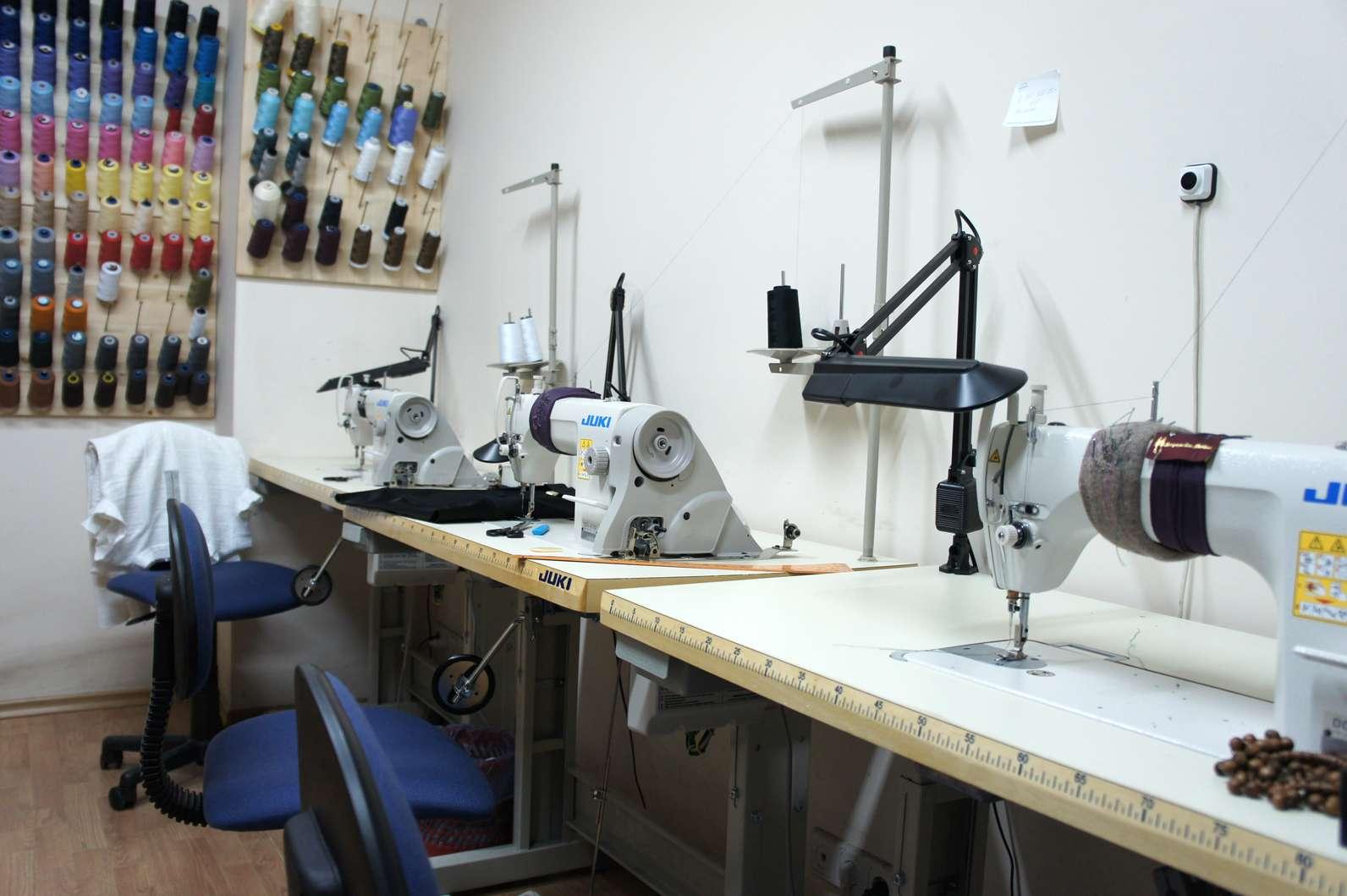 Дизайн швейного ателье