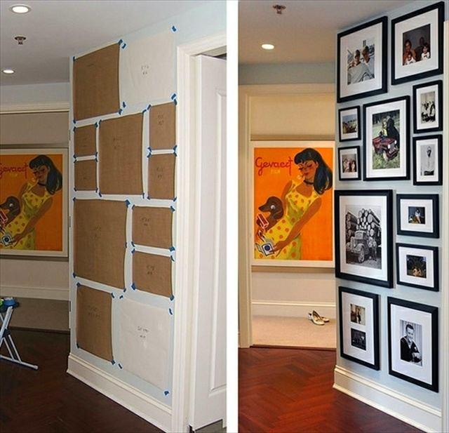 Идеи как повесить на стене