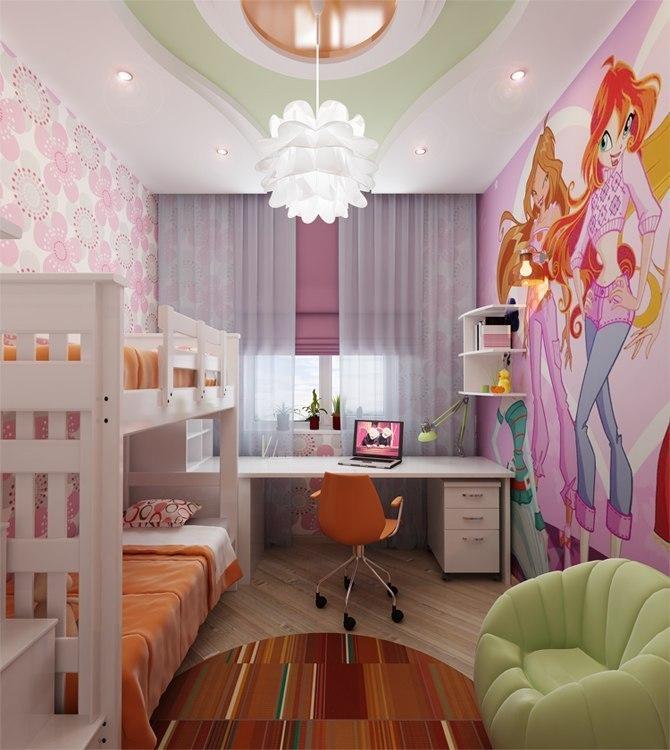 Как красиво сделать комнату для мальчика и девочки вместе