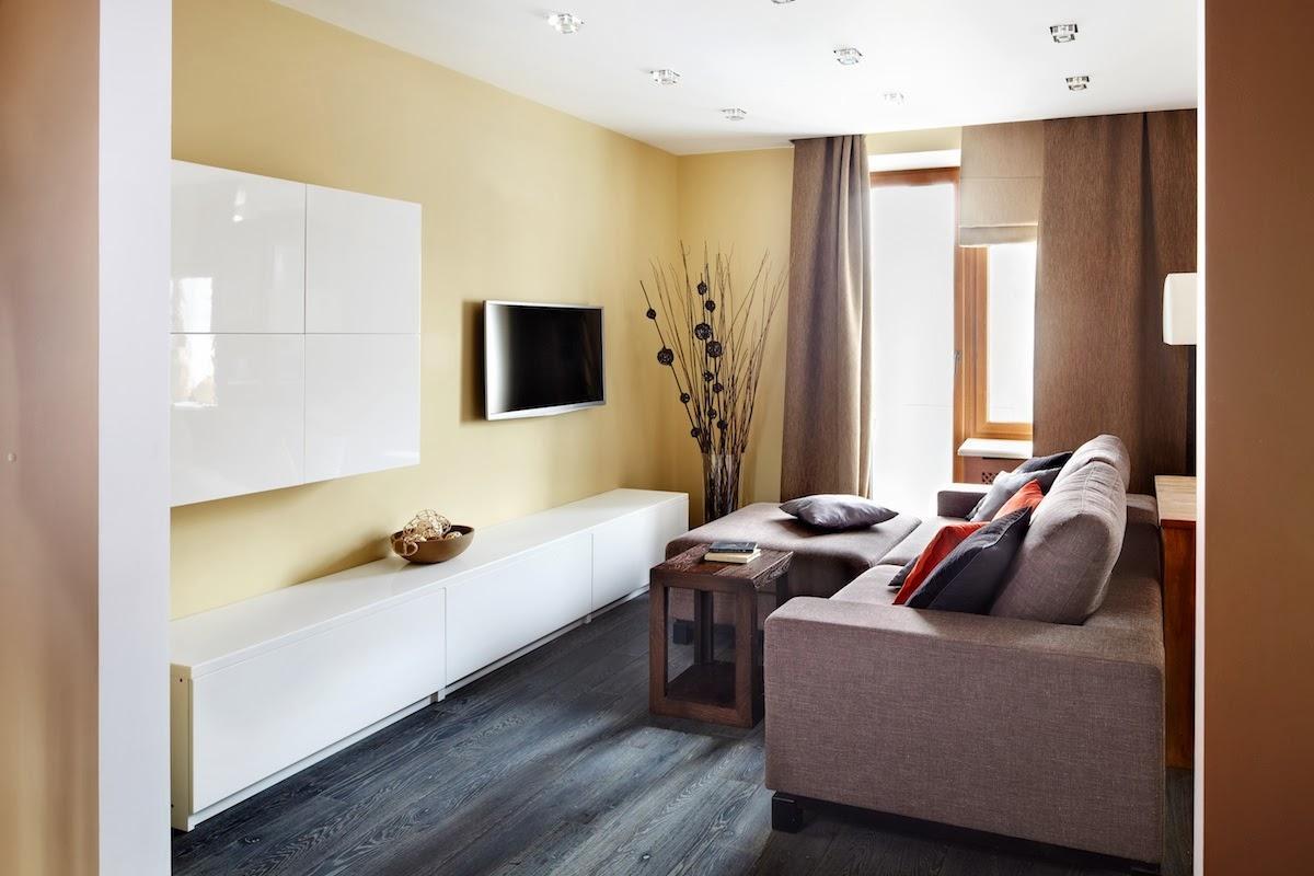 Современные 1 комнатные квартиры дизайн