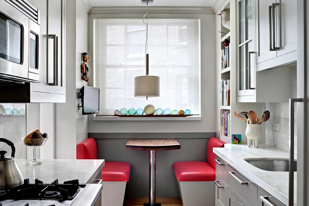 Интерьер кухни маленькой идеи