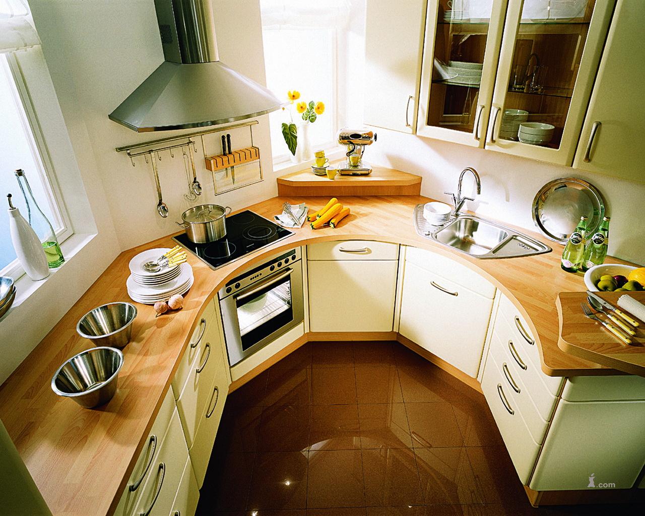 Дизайн для малых кухонь