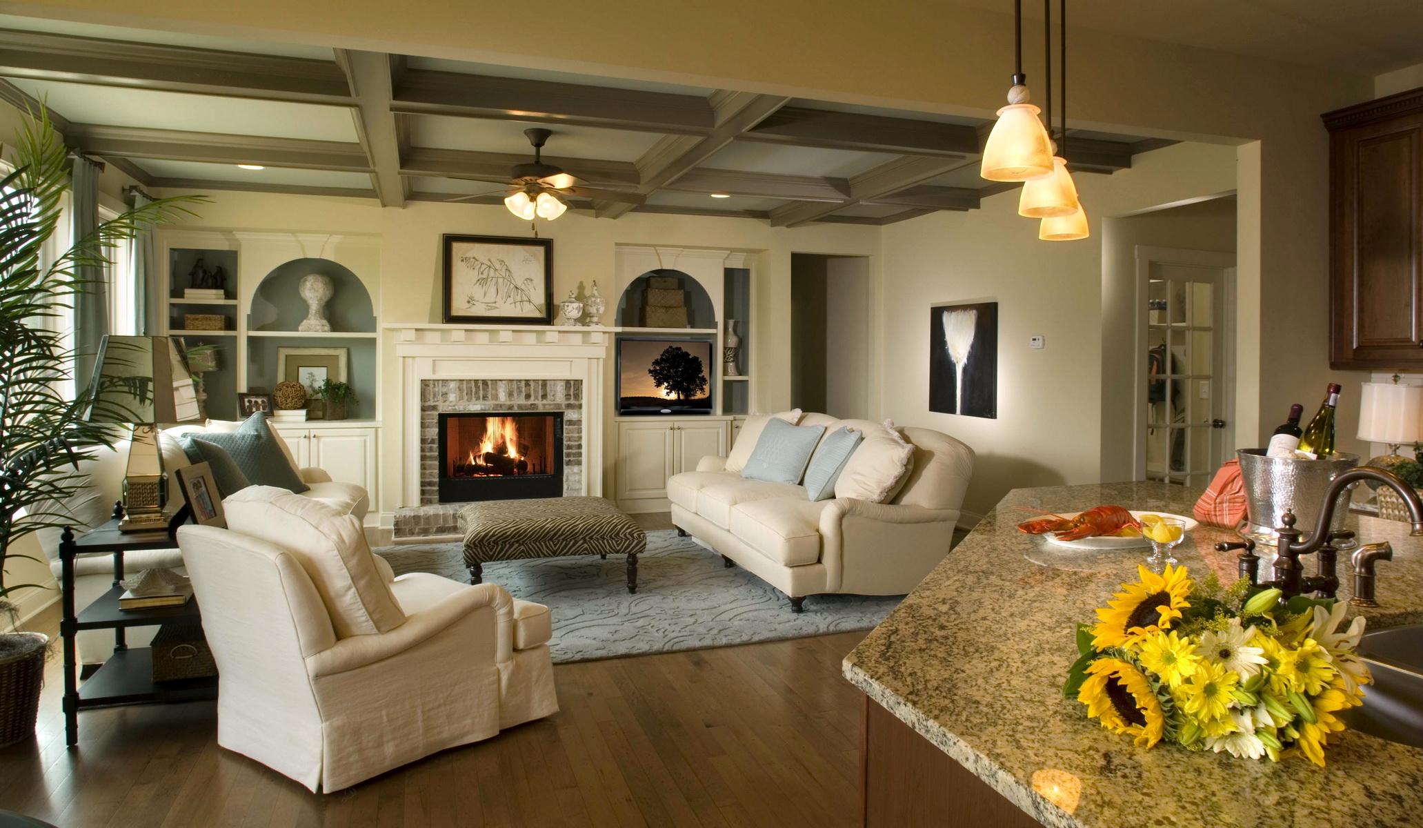 Фото красивых домов интерьер
