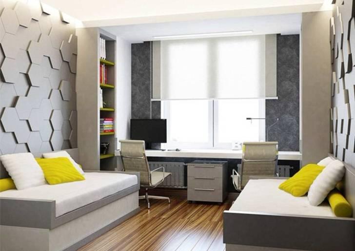 Фото дизайна подростковой комнаты для парня