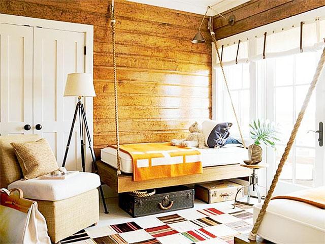 Декор комнаты на даче