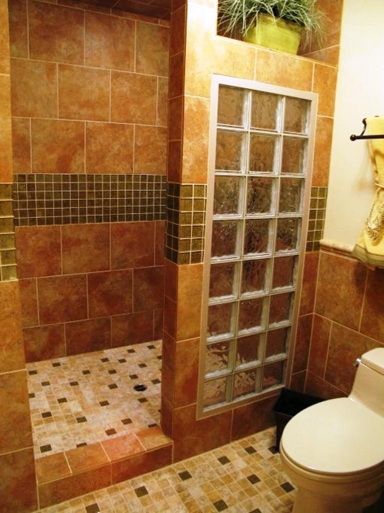 Дизайн ванной без поддона