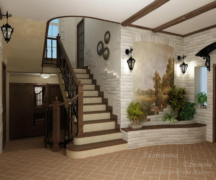 Второй этаж в частном доме дизайн фото