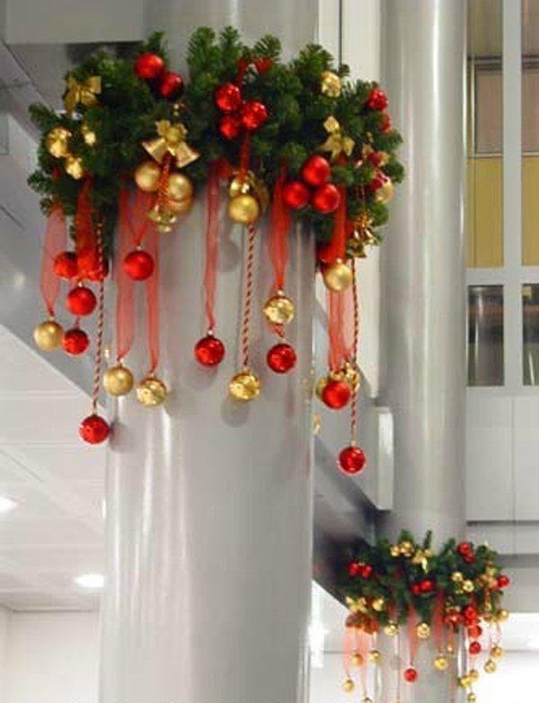 Как украсить магазин к новому году своими руками фото