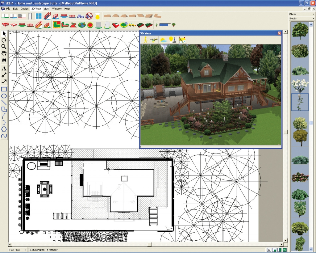 3d home architect design online free for Architect plans online