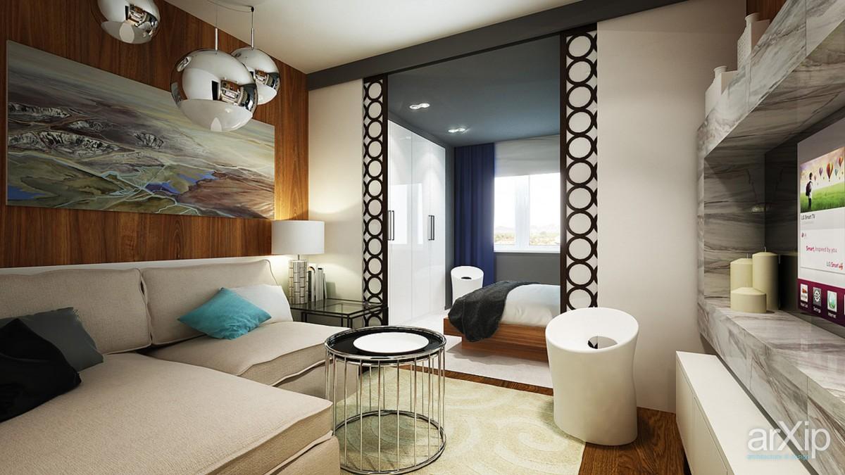 Спальня дизайн интерьера 25 кв.м