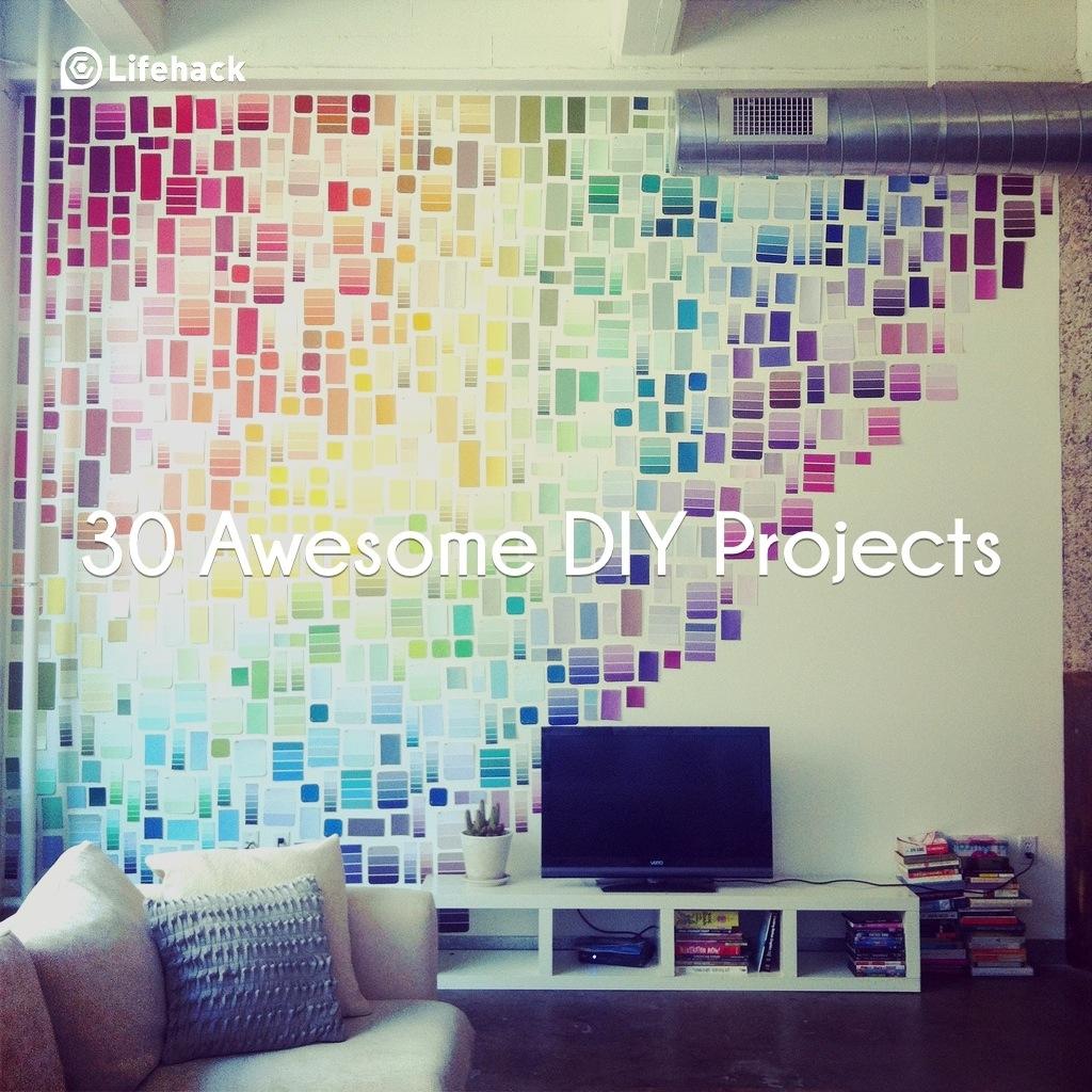 Красивые идеи фото на стене оформление дома
